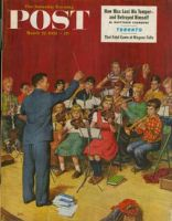 Saturday Evening Post, March 22, 1952 - School Orchestra