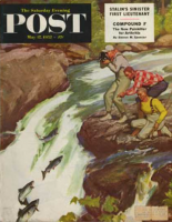 Saturday Evening Post, May 17, 1952 - Salmon Running Upstream