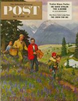 Saturday Evening Post, May 31, 1952 - Hiking in Mountains