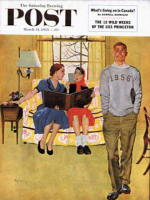 Saturday Evening Post, March 14, 1953 - Boyfriend's Baby Pictures