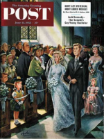 Saturday Evening Post, June 13, 1953 - Wedding Recessional