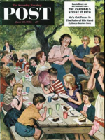 Saturday Evening Post, June 27, 1953 - Out of Ice Cream