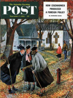 Saturday Evening Post, November 7, 1953 - Fall Gab Session