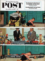 Saturday Evening Post, December 19, 1953 - New Toy Train