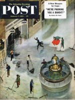 Saturday Evening Post, January 2, 1954 - Last Train Home