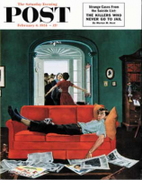 Saturday Evening Post, February 6, 1954 - Sunday Visitors