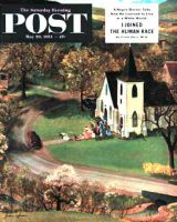 Saturday Evening Post, May 29, 1954 - Rural Wedding