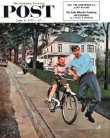 Saturday Evening Post, June 12, 1954 - Bike Riding Lesson