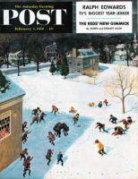 Saturday Evening Post, February 4, 1956 - Snowball Recess