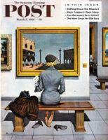 Saturday Evening Post, March 3, 1956 - Art Lover