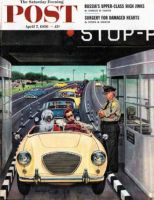 Saturday Evening Post, April 7, 1956 - Stop and Pay Toll