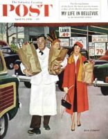 Saturday Evening Post, April 14, 1956 - Sack Full of Trouble