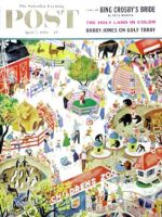 Saturday Evening Post, April 5, 1958 - Children's Zoo