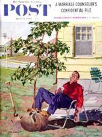 Saturday Evening Post, April 12, 1958 - Shade Tree