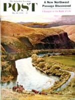 Saturday Evening Post, May 10, 1958 - Yakima River Cattle Roundup