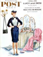 Saturday Evening Post, May 30, 1958 - Trying on the Old Uniform