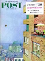 Saturday Evening Post, June 14, 1958 - Apartment Kite Flyer