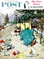 Saturday Evening Post, July 19, 1958 - Making Camp