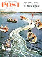 Saturday Evening Post, July 26, 1958 - Making a Wake