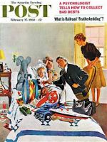 Saturday Evening Post, February 27, 1960 -   Housecall