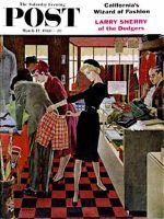 Saturday Evening Post, March 12, 1960 -   Bermuda Shorts