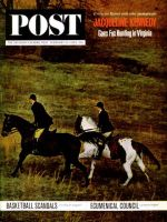 Saturday Evening Post, February 23, 1963 - Jackie Kennedy Foxhunting