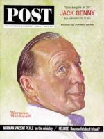 Saturday Evening Post, March 2, 1963 - Jack Benny (Rockwell)