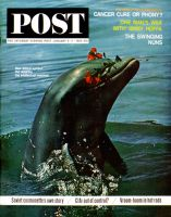 Saturday Evening Post, January 4 - 11, 1964 - Trained Dolphin