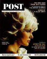 Saturday Evening Post, February 1, 1964 - Barbara Loden