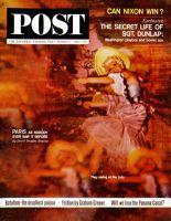 Saturday Evening Post, March 7, 1964 - Lido Chorus Girl