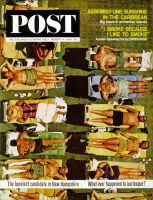 Saturday Evening Post, March 14, 1964 - Sunbathers