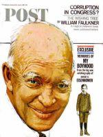 Saturday Evening Post, April 8, 1967 - Portrait of IKE