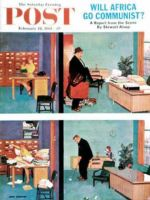 Saturday Evening Post, February 18, 1961 - Putting Time in the Office