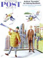 Saturday Evening Post, March 4, 1961 - New Skier