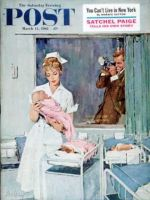 Saturday Evening Post, March 11, 1961 - Father Takes Picture of Baby in Hospital