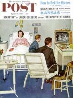 Saturday Evening Post, April 29, 1961 - Baseball in the Hospital