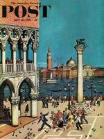 Saturday Evening Post, June 10, 1961 - American Tourists in Venice