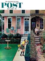 Saturday Evening Post, July 1, 1961 - Tidy and Sloppy Neighbors