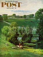 Saturday Evening Post, July 29, 1961 - Green Kentucky Pastures