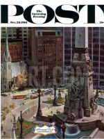 Saturday Evening Post, October 28, 1961 - Monument Circle