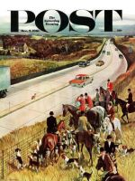 Saturday Evening Post, December 2, 1961 - Foxhunters Outfoxed