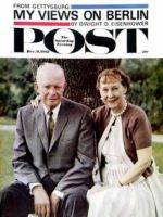 Saturday Evening Post, December 9, 1961 - Mamie & Dwight Eisenhower