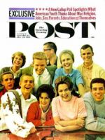 Saturday Evening Post, December 23, 1961 - Glendale California Teenagers