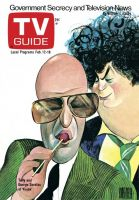 TV Guide, February 12, 1977 - Telly and George Savalas of 'Kojak'