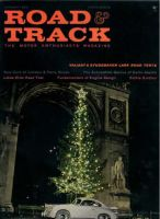 Car Magazine, January 1, 1960 - Road & Track