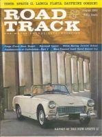 Car Magazine, August 1, 1961 - Road & Track