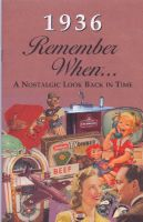 1936 Remember When Booklet