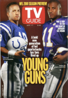 TV Guide, September 1, 2001 - NFL