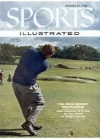 Sports Illustrated, January 16, 1956 - Mike Souchak-Golf