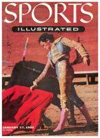 Sports Illustrated, January 17, 1955 -  Rafael Rodriguez - Bullfighting